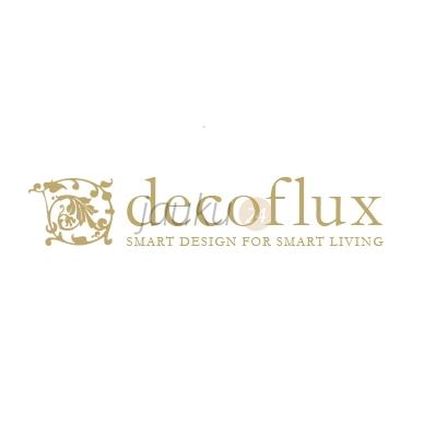 """Decoflux"" satino paklodė su guma ""Silver chalk"" 3"