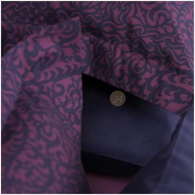 """Decoflux satino patalynės užvalkalai """"Papercut Purple"""" 3"""