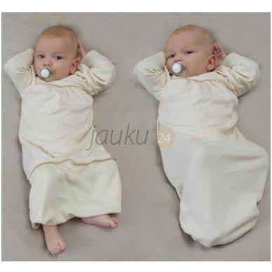 Ekologiška kūdikio pižama-miegmaišis 2