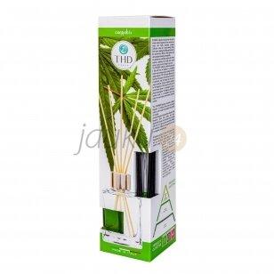 Itališkas namų kvapas THD Botanic Cannabis 120 ml. ( kanapių  aromatas)
