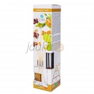 Itališkas namų kvapas THD Botanic cardamomo e coffe 120 ml. ( kardamono ir kavos aromatas)