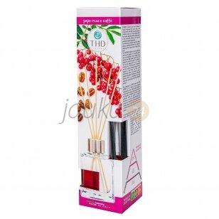 Itališkas namų kvapas THD Botanic pepe rosa e coffe 120 ml. ( rožinių pipirų ir kavos aromatas)