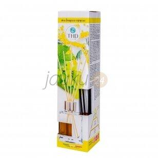 Itališkas namų kvapas THD Botanic uva bianca e mimosa 120 ml. ( baltų vynuogių ir mimozos aromatas)