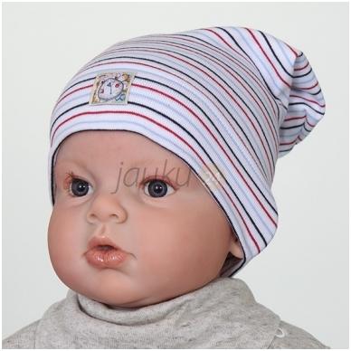 Kepurė berniukui be raištukų 2