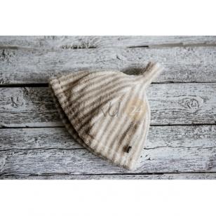 Lininė pirties kepurė