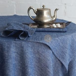 "Lininis stalo takelis ""Blue"""