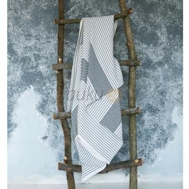 Lino-medvilnės pirties skara 100x210