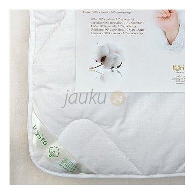 """""""Lorita"""" vaikiška antklodė su medvilnės užpildu 100x135 2"""