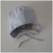 Medvilninė kepurytė Vilaurita (pilka)