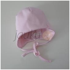 Medvilninė kepurytė Vilaurita (rožinė)