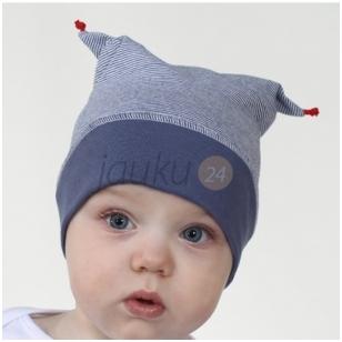 Medvilninė kepurytė berniukui Banginukas