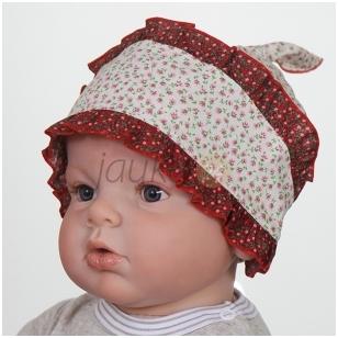 Medvilninė kepurytė - skarelė