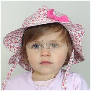 Medvilninė skrybėlė mergaitei