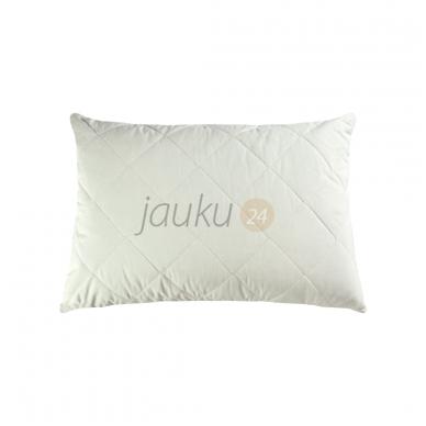 Išskirtinė pagalvė su medvilnės - lino pluoštu