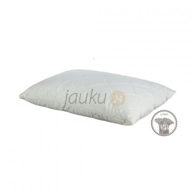 Išskirtinė pagalvė su medvilnės - lino pluoštu 2