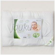 """Pirmoji antialerginė kūdikio pagalvė """"Aloe vera"""" Lorita"""