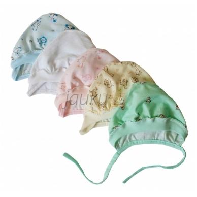 Plona medvilninė kepurytė Vilaurita įvairių spalvų