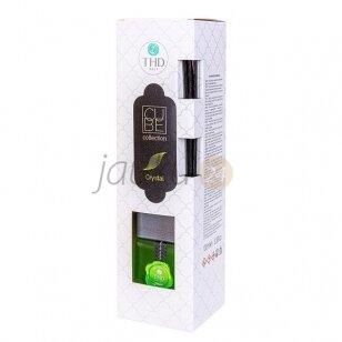 Prabangus itališkas namų kvapas THD Cube crystal 100 ml. ( ąžuolo samanų ir gintaro kvapas)