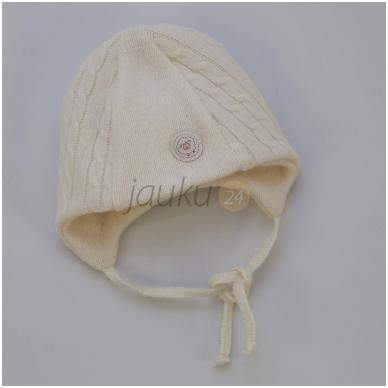 Šilta dviejų sluoksnių merino vilnos kepurė 2