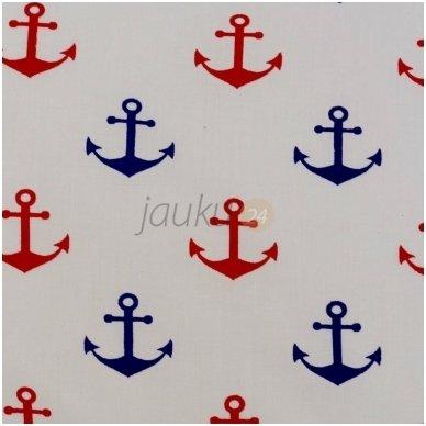 """Siuvama patalynė kūdikiui """"Red anchor"""" 2"""