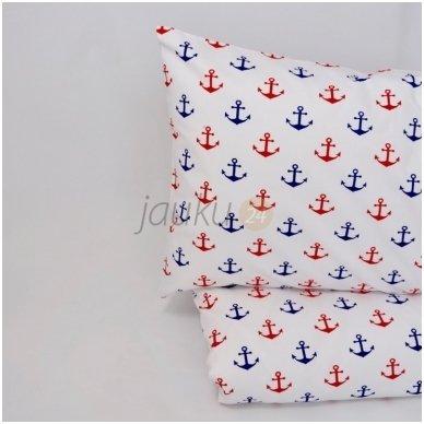 """Siuvama patalynė kūdikiui """"Red anchor"""""""