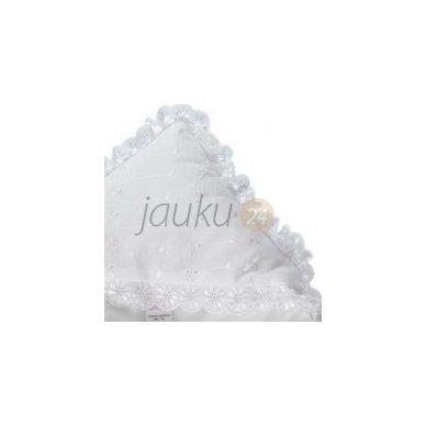 Siuvinėtas baltas vokelis kūdikui 2