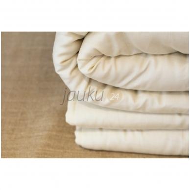 Universali rankų darbo antklodė su vilnos užpildu (įvairių dydžių) 4