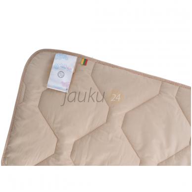 "Universali vaikiška antklodė su kupranugario vilna ""Lilla Lull"" 100x135 2"
