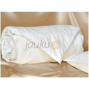 Vaikiškas 100% šilko užpildo patalynės komplektas  ( antklodė 100x140, pagalvė 40x60)