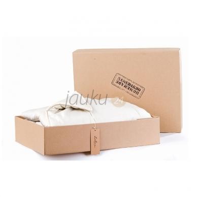 Vasarinė rankų darbo antklodė su vilnos užpildu (įvairių dydžių) 2