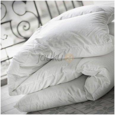 Vasarinė vaikiška pūkinė patalynės komplektas: antklodė ir pagalvė (90% pūkų, 10% plunksnų) 2
