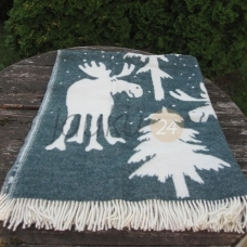 "Vilnos pledas ""Santa claus deer"""