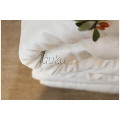 Žieminė rankų darbo antklodė su vilnos užpildu (įvairių dydžių) 4